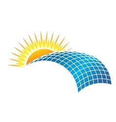 Solar business vector