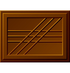 Seamless chocolate bar vector