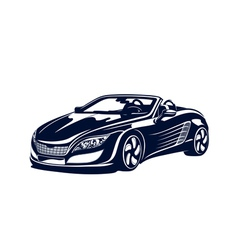 Sport automobile vector