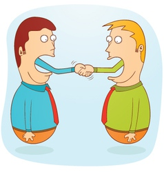 Business agreement vector
