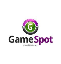 Game spot logo vector