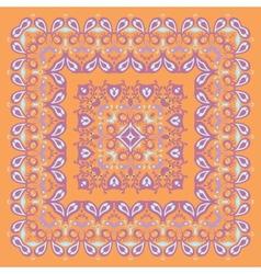 Bandana pattern colorful vector