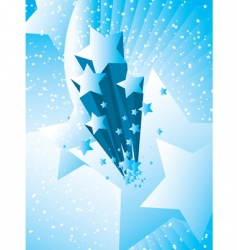 Stars burst background vector