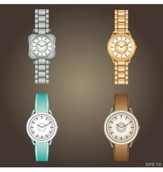 Wristwatch vector