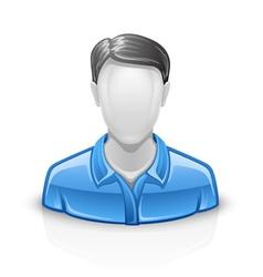User icon man vector