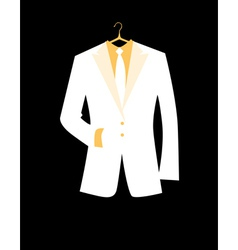 Mans jacket for your design vector