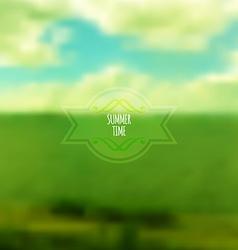 Corporate website design summer time vector