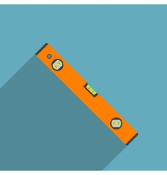 Flat level tool vector