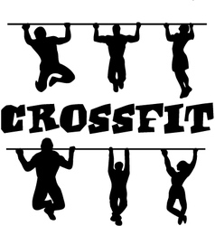 Crossfit workout vector