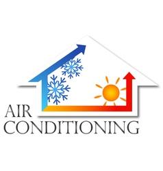 Air conditioner design vector