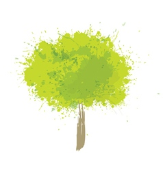 Tree green vector