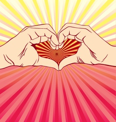 Love sign 3 vector