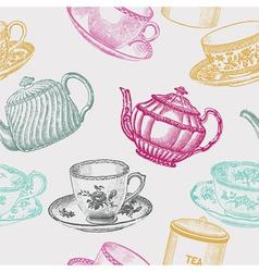 Tea time vector