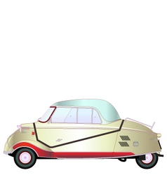 Kr200 vintage car vector