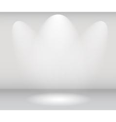 Light in gallery vector