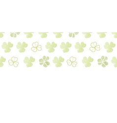 Clover geometric textile textured horizontal vector