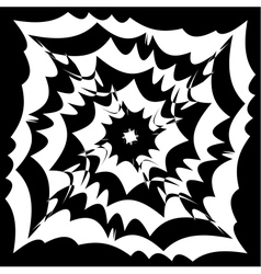 Spiral effect background vector