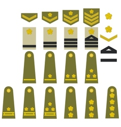 Japanese army insignia vector