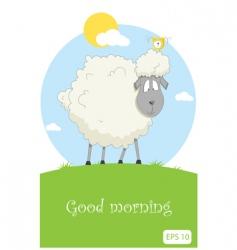 Nice sheep vector