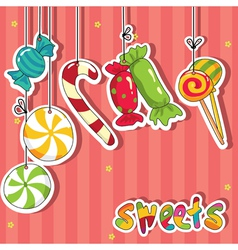 Sweets on strings vector