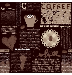 Coffee background i vector