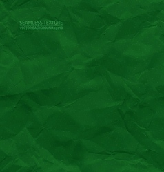 Creased green paper seamless texture vector