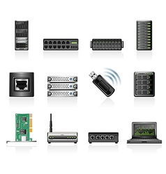 Network hardware vector