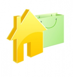 Purchased house vector