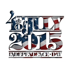 4th of july cut out 2015 independance day vector