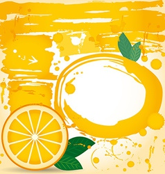 Juice fruit drops liquid orange element design vector