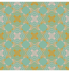 Victorian pattern in natural colors vector