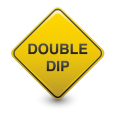 Double dip warning vector