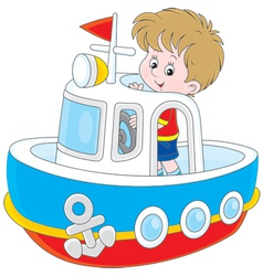 Little seaman vector