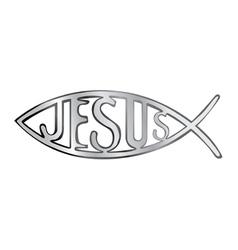 Jesus fish vector