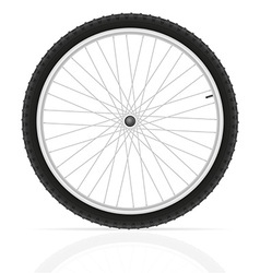 Bicycle wheel 01 vector
