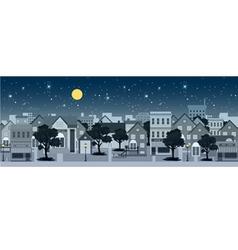 City at night vector