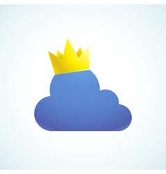 King cloud vector