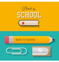 Back to school design element 02 vector