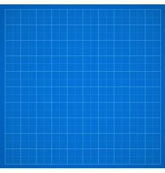 Blue grid paper vector