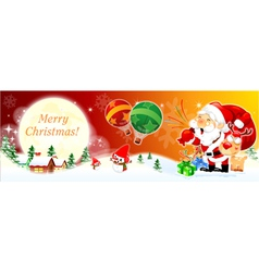 Merry christmas and happy new year backgroung vector