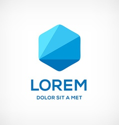 Abstract business logo icon design template vector