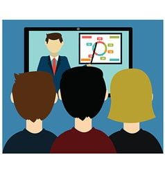 Video conference vector