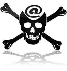 Web piracy vector