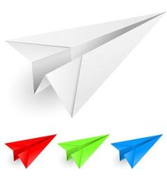 Paper dart vector