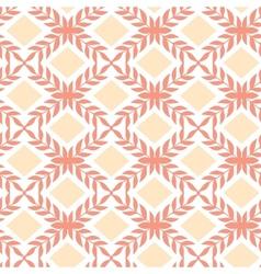 Peach orange argyle retro seamless pattern vector