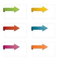 Page arrows vector