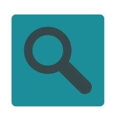 Search flat soft blue colors rounded button vector