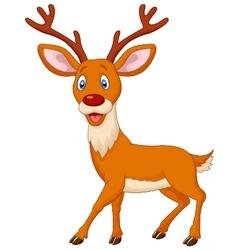 Cartoon deer vector