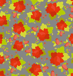 Rose seamless pattern background vector