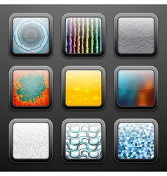 Background for the app icons set vector